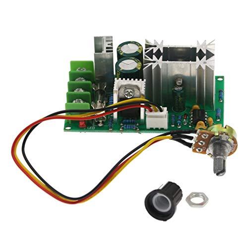 Hellery Módulo de Accionamiento Del Interruptor Del Controlador de Velocidad Del Motor de 10-60V 20A PWM DC de Eficiencia