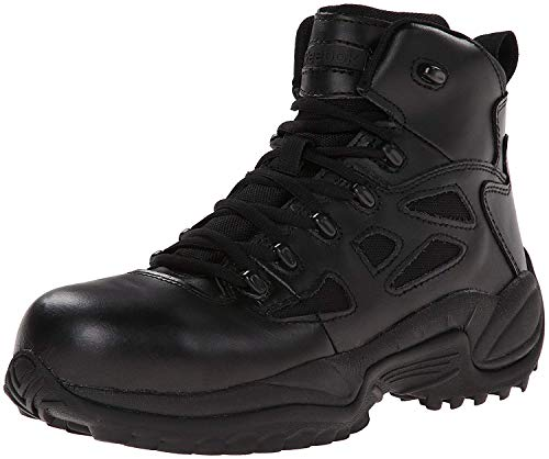 Reebok Rapid Response, Herren Rapid Response Stiefel mit seitlichem Reißverschluss, 20,3 cm, Schwarz, Größe 44, Herren, Schwarz, 43