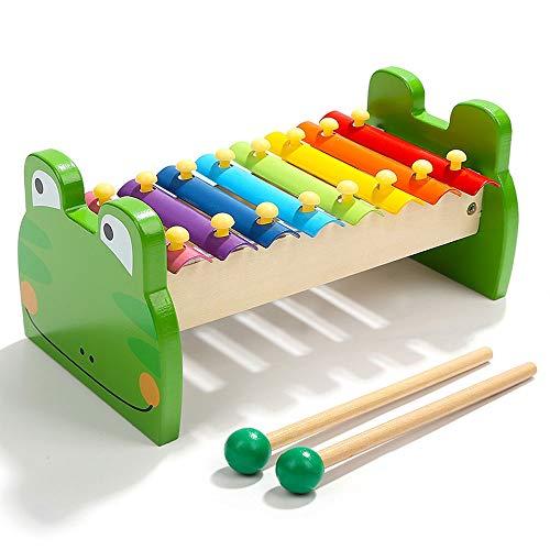 Yifuty Achttoniger Klavierspieler klopft auf das Klavier, Kinderbaby-Musikinstrumente, pädagogische musikalische Spielwaren, Erleuchtungsunterrichtshilfen und fördert die Gehirnentwicklung