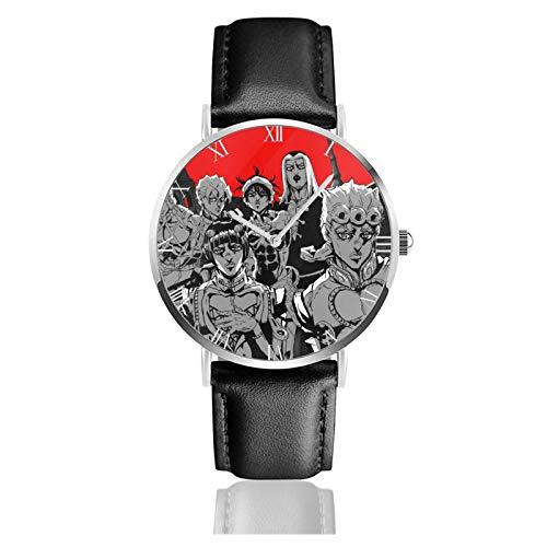 AMBERATKINS JoJo's Bizarre Adventure Unisex Watches Ultra-Thin Fashion Watch