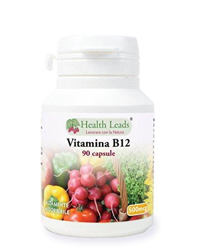 Vitamina B12 500mcg x 90 capsule