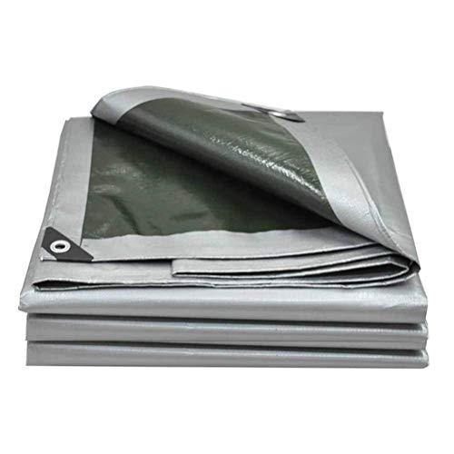 ZKORN Lona Impermeable, Lona Lona Impermeable Cubierta de Lona Resistente con Ojales Lona Multiusos para protección Solar y contra la Lluvia