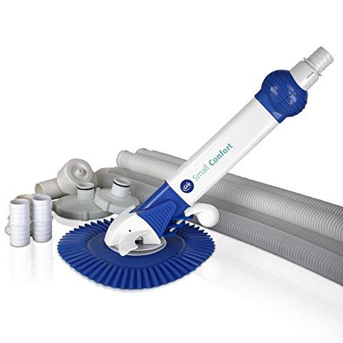 Gre AR20682 Limpiafondos automático de aspiración, Blanco y Azul, 82x9.5x35 cm