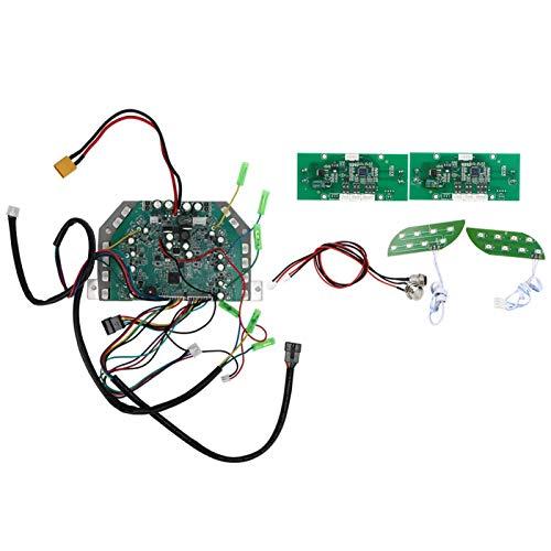 Germerse Panel de Control Principal de Scooter, Controlador de Placa Base de Scooter, Accesorios de Placa de computadora de Dos Ruedas(Three-Seater Self-Balancing Version)