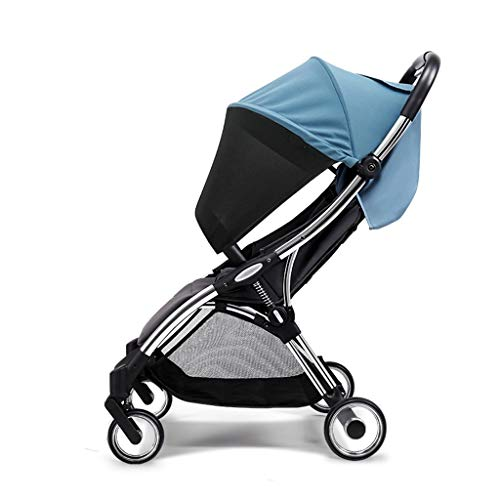 Fantastic Prices! Jixi Stroller Four-Wheel Shock Absorption Portable Folding Baby Stroller One-Butto...
