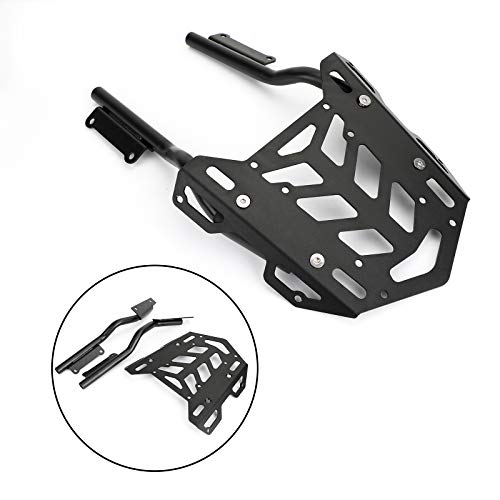 Artudatech Motorcycle Rear Luggage Rack, Moto Rear Luggage Rack Carrier Mount Fender Support, Luggage Rack Carrier for H-O-N-D-A CB650R CBR650R 2019 2020