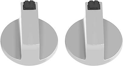 Agatige Reemplazos de perillas de Estufa de 6 mm, Piezas de Estufa Ctric de aleación de Zinc, para Estufa de Gas de Horno