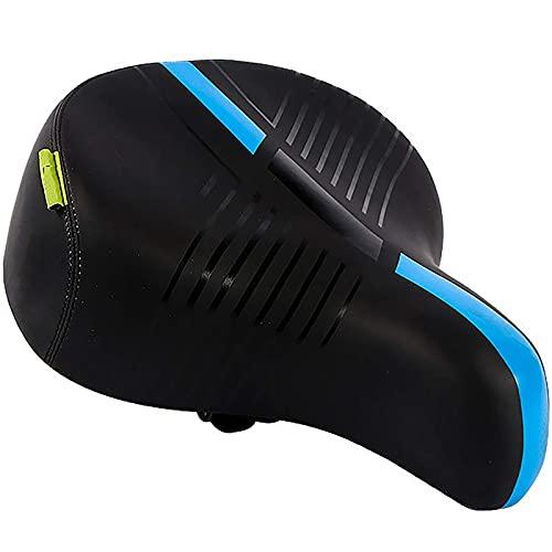 XYXZ Almohadilla para Asiento De Sillín De Bicicleta Innovative Craft Sillín De Bicicleta De Montaña Estilo Clásico Cómodo Y Atrevido Asiento De Bicicleta De Resorte Cojín De Bicicleta Práct