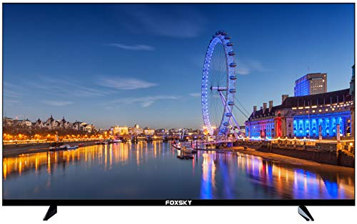 Foxsky 108 cm (43 inches) Full HD Smart LED TV 43FS-VS (Black) (2021 Model)   With Voice Assistant