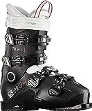 Salomon S/Pro HV 70 IC Ski Boots Womens Sz 8/8.5 (25/25.5) Black/White/Pink