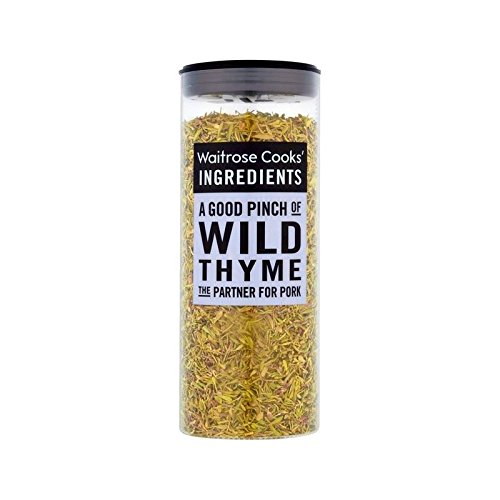 Cooks' Ingredients Wild Popular product Thyme A surprise price is realized Waitrose 25g of Pack 4 -
