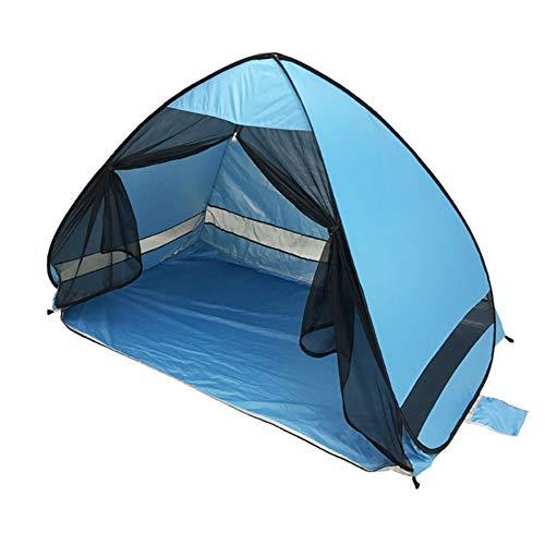 YOULY Carpa de Playa Antimosquitos con ProteccióN UV de Gasa Que Acampa AutomáTicamente Al Aire Libre Carpa de Playa PortáTil Cortina de Malla