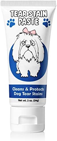 Squishface Tear Stain Paste Cleans Dog Tear Stains 2 Oz Great for Long Hair Dogs Such as Poodles product image