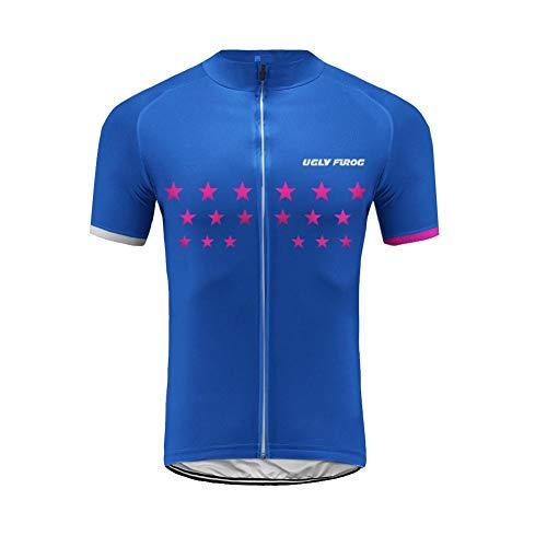 Uglyfrog Magliette Jersey Uomo Mountain Bike Manica Corta Camicia Top Abbigliamento Ciclismo DXMZ04