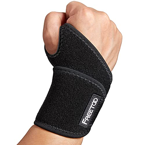 FREETOO Air Mesh Wrist Support for Carpal Tunnel support for pain relief,...