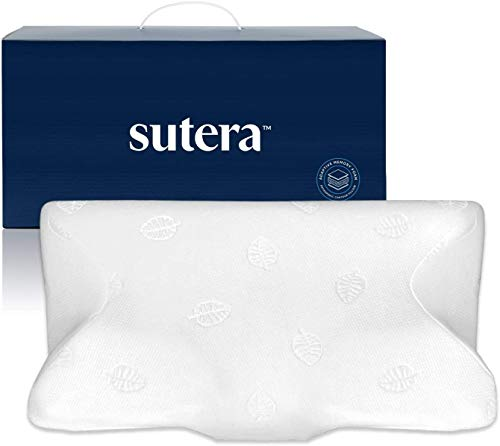 SUTERA Dream Deep Memory Foam Pillow for Sleeping, Cervical Pillow That relieves Neck, Back, Hip, & Joint Pain, Bed Pillow, Side Sleepers Pillows,...