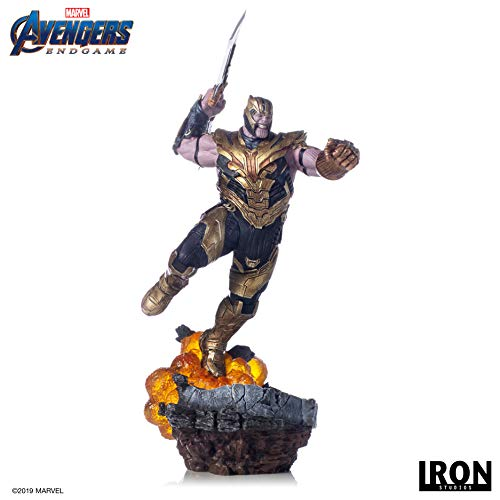 Estatua Thanos 36 cm. Vengadores: Endgame. BDS Art Scale. Regular Version. Escala 1:10. Iron Studios