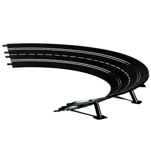 Carrera 20575 High Banked Curve 2/30, 6 Pieces - Digital 124/132 & Analog