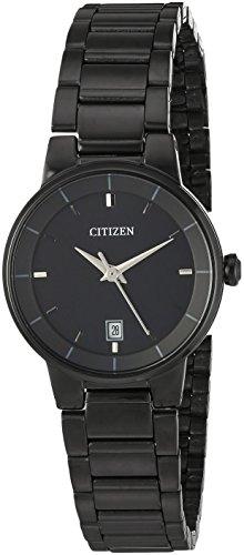 Citizen Analogue Black Dial with Date Quartz Women's Watch - EU6017-54E