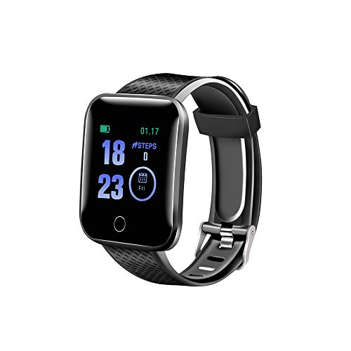 Fullpetree Smart Watch, Activity Tracker Watch with Fitness Tracker and Heart Rate Monitor, with Pedometer and Life Waterproof Smart Fitness Belt, Calorie Counter, Male and Female Pedometer Watch