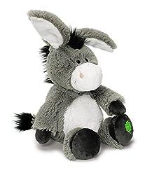 Plüschtier Esel mit gesticktem Kleeblatt von Nici