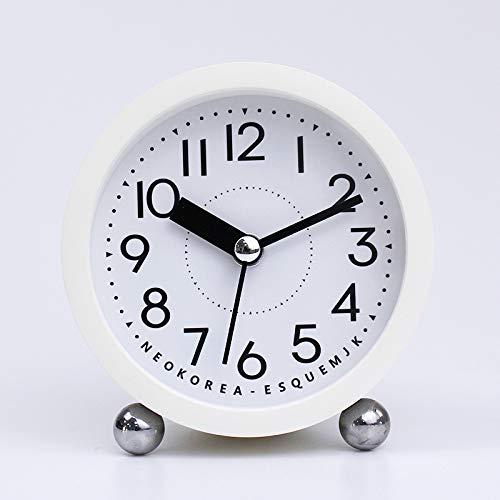 Seiko Unisexe qhe100s R/éveil analogique Plastique Blanc