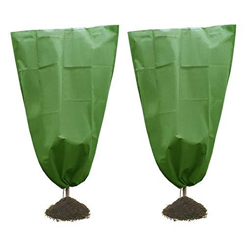Varadyle 2 fundas prácticas para plantas de arbusto, arbusto, para jardín, invierno, para proteger