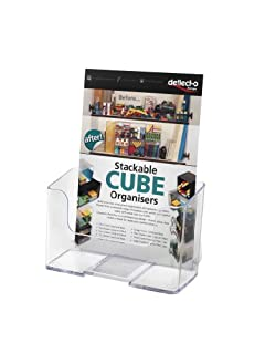 deflect-o Euro-Style One-Pocket Rigid Plastic Brochure Display Rack, Clear (74901) (B000093IQ3) | Amazon price tracker / tracking, Amazon price history charts, Amazon price watches, Amazon price drop alerts