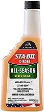 STA-BIL (15226) Diesel All-Season - Anti-Gel - Cetane Boost - Cleans And Lubricates Fuel System - Water Demulsification - Treats 150 Gallons, 20 fl. oz.