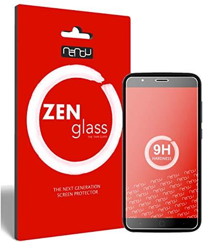 ZenGlass Flexible Glas-Folie kompatibel mit Vernee Thor 5 Panzerfolie I Display-Schutzfolie 9H I (Kleiner Als Das Gewölbte Display)