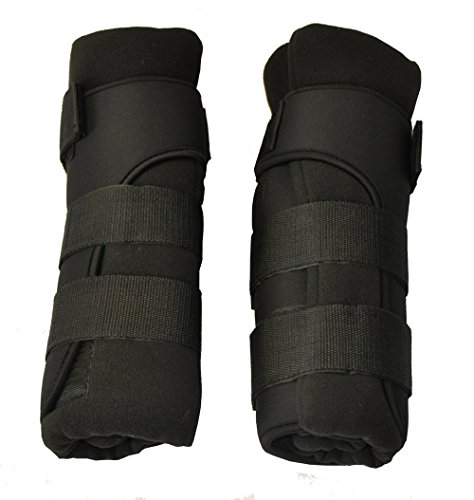 Back on Track 2-Piece 14-Inch Therapeutic Horse Royal Quick Wrap, Medium