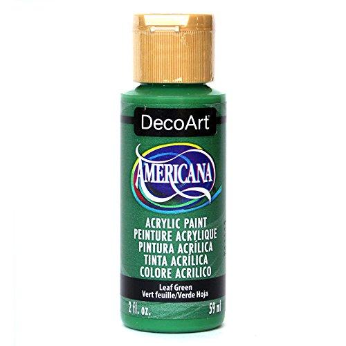 DecoArt Americana Acrylic Paint, 2-Ounce, Leaf Green
