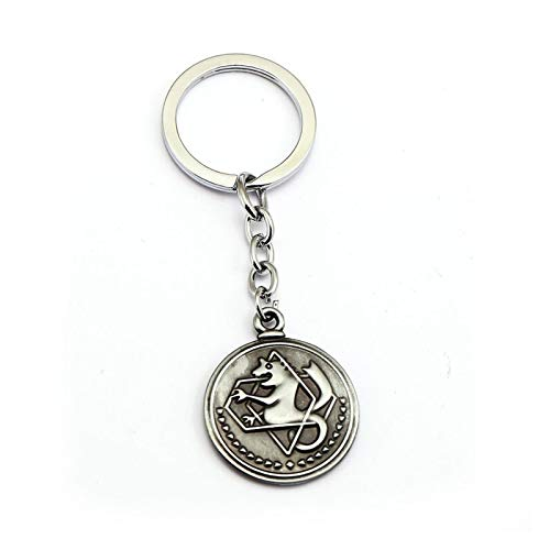 Xx101 Keychain Anime Boys Gifts Vintage Coin Keychains for Women Fashion Summer Jewelry