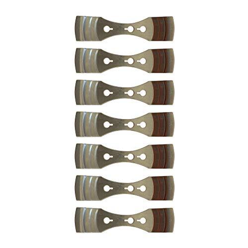 Aparato de Metal para Centrar Mechas para la Elaboración de Velas Cozyours 7 piezas