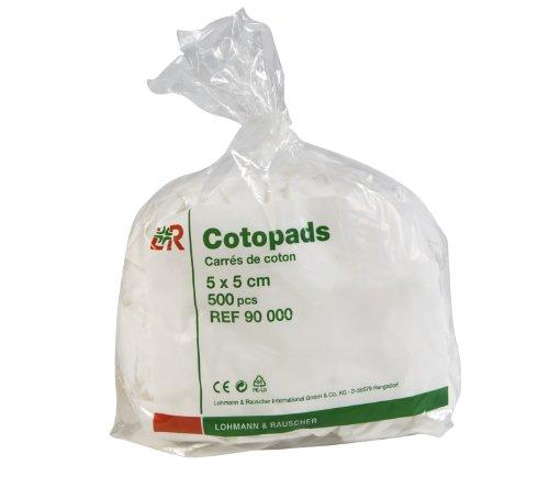 COTOPAD CARRES DE COTON 5X5CM