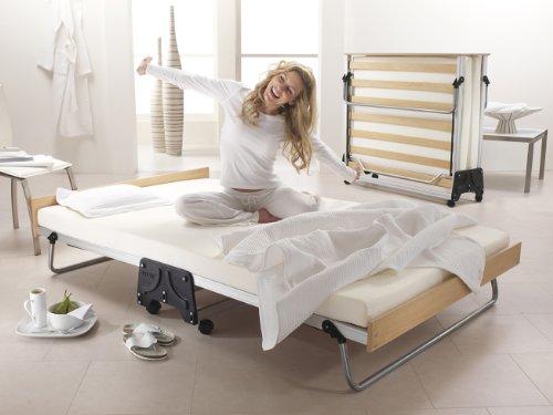 JAY-BE J-cama de invitados plegable modelo con forma de colchón de espuma...