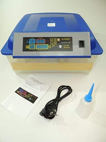 Campo24 V48+2 + Zubehör Motorbrüter für 48 Eier Inkubator vollautomatischer Motorbrüter Incubator