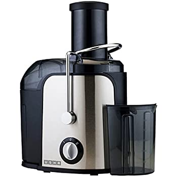 Usha Stainless Steel Juicer (3260) 600-Watt with Over Heat Protection (Black)