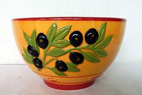 AVENUELAFAYETTE Bol Olive - Provençal - Couleur Provence - 14 cm