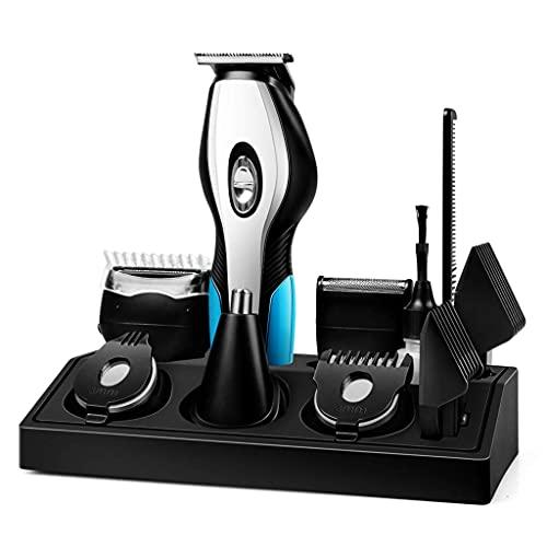 Afeitadora eléctrica Recargable USB multifunción, maquinillas de Afeitar, Cuidado Facial, Hombres, Barba,...
