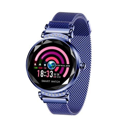 YWT Vrouwelijke Smart Sport Armband, 1-inch Kleur Scherm Horloge Hartslag Monitoring Activiteit Tracker, Slaap Tracking Calorie Counter voor Android en iOS