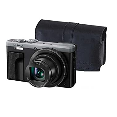 ~SPRING SALE ~ Panasonic LUMIX 4K ZS60 Point and Shoot Camera, 30X LEICA DC Vario-ELMAR Lens F3.3-6.4, 18 Mp, DMC-ZS60S with  CASE  (Certified Refurbished)