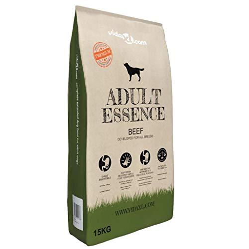 Adult Dry Dog Food, Senior Dog Food Premium Dry Dog Food Adult Essence Beef 15 kg