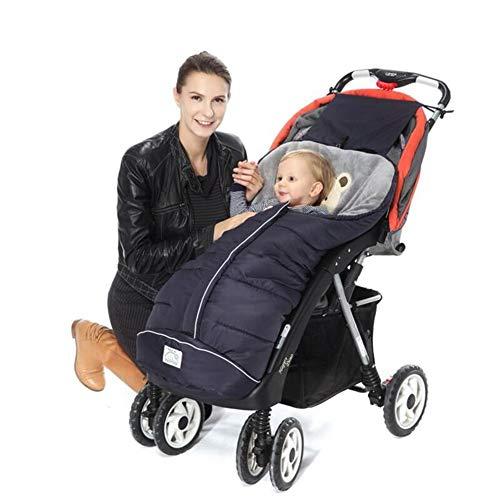 Pasgeboren Baby Kinderwagen, Winter Slaapzakken Vervoer Ultralight Pushchair met één hand Vouw