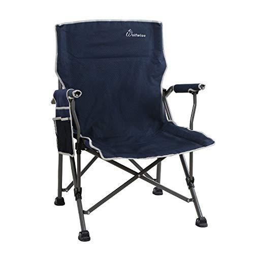 WolfWise Chaise de Plage Pliante, Assise Large,...