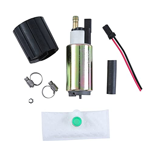 HANSCOSTAR New Electric Fuel Pump & Install Kit Fit Multiple Models Replaces...