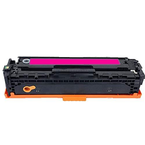 XDXD Cartucho de tóner para HP 131A reemplazo para HP Color LaserJet Pro M276N 276NW 251N 251NW impresora con chip impresora láser tambores operación simple hospitales rojo