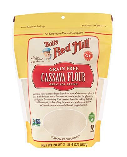 Bob's Red Mill Cassava Flour, 20-ounce (Pack of 4)