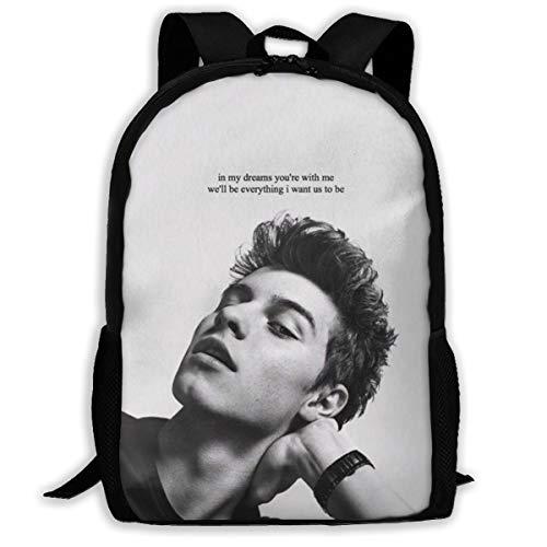 Sh-AWN Men-Des Travel Backpack Kids School Bags Print Backpacks Teenagers Daypack for Boys Girls