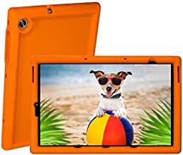 BobjGear Bobj Rugged Tablet Case for Lenovo Tab M10 HD 2nd Gen 10.1 inch Models TB-X306F, TB-X306X Kid Friendly (Outrageous Orange)